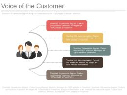 one Voice Of The Customer Powerpoint Slides