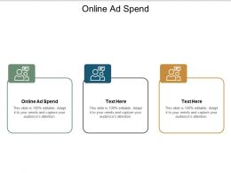 Online Ad Spend Ppt Powerpoint Presentation Professional Maker Cpb