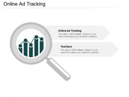 Online Ad Tracking Ppt Powerpoint Presentation Icon Example Cpb