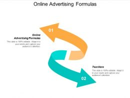 Online Advertising Formulas Ppt Powerpoint Presentation Infographic Template Template Cpb