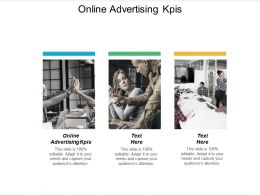 Online Advertising KPIS Ppt Powerpoint Presentation Inspiration Infographics Cpb