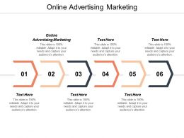 Online Advertising Marketing Ppt Powerpoint Presentation Summary Objects Cpb