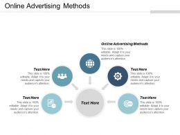 Online Advertising Methods Ppt Powerpoint Presentation Professional Slide Portrait Cpb