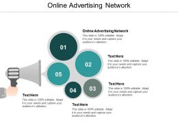 Online Advertising Network Ppt Powerpoint Presentation Ideas Graphic Tips Cpb