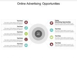 Online Advertising Opportunities Ppt Powerpoint Presentation Gallery Demonstration Cpb