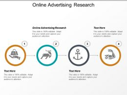 Online Advertising Research Ppt Powerpoint Presentation Infographic Template Skills Cpb
