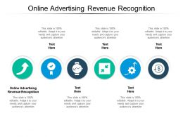 Online Advertising Revenue Recognition Ppt Powerpoint Presentation Slides Files Cpb