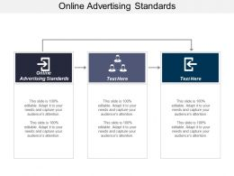Online Advertising Standards Ppt Powerpoint Presentation Ideas Introduction Cpb