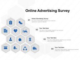 Online Advertising Survey Ppt Powerpoint Presentation Slides