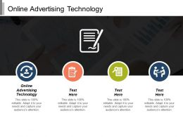 Online Advertising Technology Ppt Powerpoint Presentation Model Slide Cpb