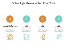 Online Agile Retrospection Free Tools Ppt Powerpoint Presentation Styles Aids Cpb