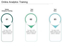 Online Analytics Training Ppt Powerpoint Presentation Show Styles Cpb