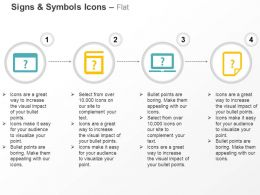 Online And Manual Help No Information From Laptop Faq Ppt Icons Graphics