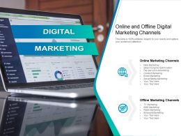 Online And Offline Digital Marketing Channels