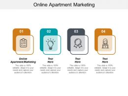 Online Apartment Marketing Ppt Powerpoint Presentation Pictures Mockup Cpb