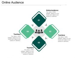 Online Audience Ppt Powerpoint Presentation Show Summary Cpb