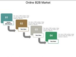 Online B2B Market Ppt Powerpoint Presentation Portfolio Designs Cpb