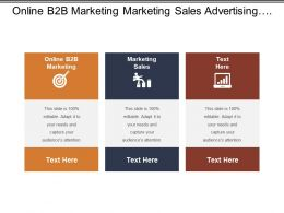 Online B2b Marketing Marketing Sales Advertising Plan Marketing Systems Cpb