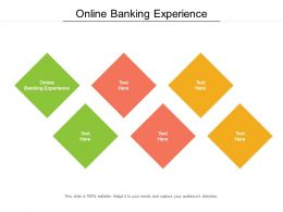 Online Banking Experience Ppt Powerpoint Presentation Styles Files Cpb