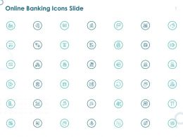 Online Banking Icons Slide Ppt Powerpoint Presentation Summary Inspiration