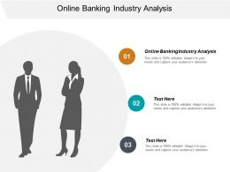 Online Banking Industry Analysis Ppt Powerpoint Presentation File Graphics Tutorials Cpb