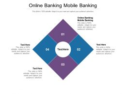 Online Banking Mobile Banking Ppt Powerpoint Summary Design Inspiration Cpb
