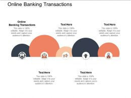 Online Banking Transactions Ppt Powerpoint Presentation Icon Introduction Cpb