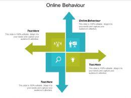 Online Behaviour Ppt Powerpoint Presentation Infographic Template Smartart Cpb