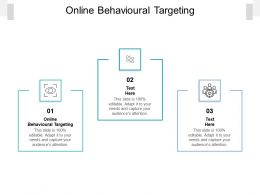 Online Behavioural Targeting Ppt Powerpoint Presentation Professional Guide Cpb
