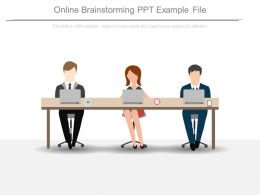 Online Brainstorming Ppt Example File
