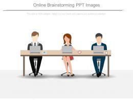 Online Brainstorming Ppt Images