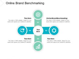Online Brand Benchmarking Ppt Powerpoint Presentation Gallery Guide Cpb