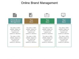 Online Brand Management Ppt Powerpoint Presentation Pictures Deck Cpb