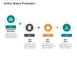Online Brand Protection Ppt Powerpoint Presentation Portfolio Styles Cpb