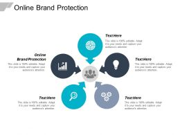 Online Brand Protection Ppt Powerpoint Presentation Professional Structure Cpb