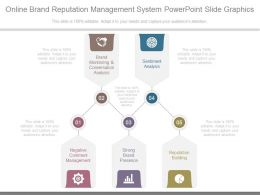 Online Brand Reputation Management System Powerpoint Slide Graphics