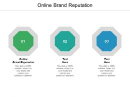 Online Brand Reputation Ppt Powerpoint Presentation Pictures Topics Cpb