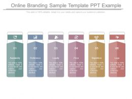 Online Branding Sample Template Ppt Example