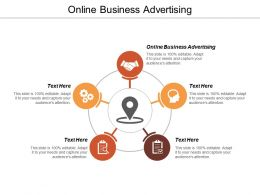 Online Business Advertising Ppt Powerpoint Presentation Gallery Inspiration Cpb