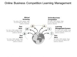 Online Business Competition Learning Management System Ethical Investing Cpb
