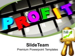 Online Business Development And Profits Powerpoint Templates Ppt Themes And Graphics 0313