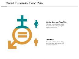 Online Business Floor Plan Ppt Powerpoint Presentation Inspiration Gridlines Cpb