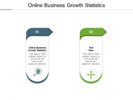 Online Business Growth Statistics Ppt Powerpoint Presentation Slides Example Cpb