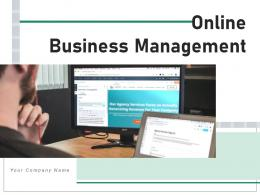 Online Business Management Marketing Working Framework Successful Resources Information Strategy