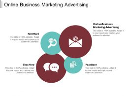 Online Business Marketing Advertising Ppt Powerpoint Presentation Slides Show Cpb