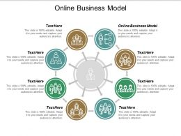 Online Business Model Ppt Powerpoint Presentation Gallery Rules Cpb