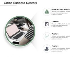 Online Business Network Ppt Powerpoint Presentation File Graphic Tips Cpb