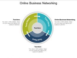 Online Business Networking Ppt Powerpoint Presentation File Graphics Design Cpb