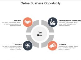 Online Business Opportunity Ppt Powerpoint Presentation File Visuals Cpb