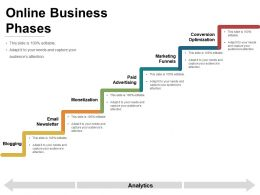 Online Business Phases